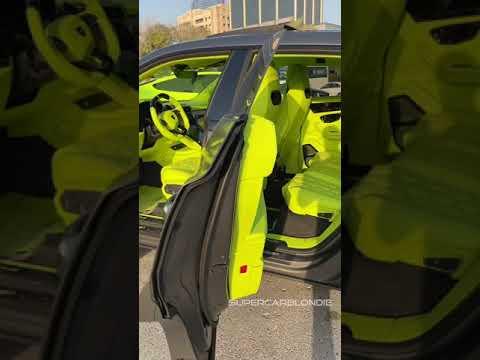 Hottest Lamborghini Urus Interior