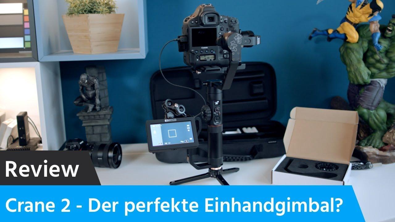 Zhiyun Crane 2 Review und Installation (Sony A7R III, Canon 1DX mk 2, Canon  C200)