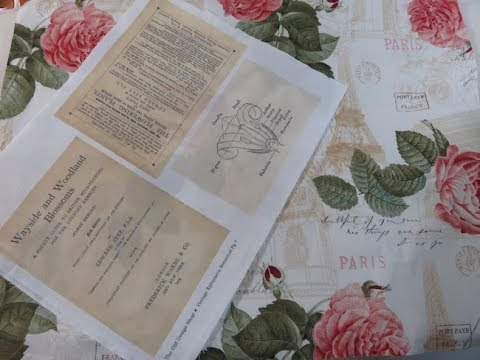 Book Cloth DIY For Junk Journal Covers Bookbinding