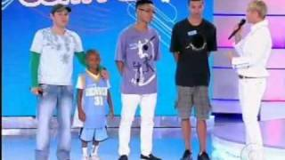 Tv Xuxa 22/10/2011   O Passinho do Funk    So Brabo 2