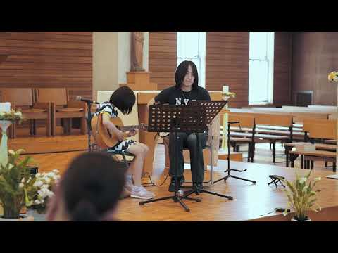 """Mikasa Plays """"Kimi o Nosete"""" (Carrying You) from """"Castle in the Sky"""""""