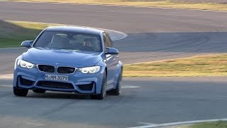 New 2014 BMW M3 Sedan - Test Drive on Race Track