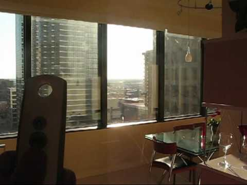 Somfy Motorized High Rise Roller Shades Austin Tx Youtube