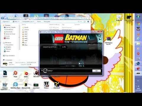 Tutorial de como baixar e instalar Batman Lego 1