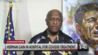 Herman Cain Diagnosed With COVID-19