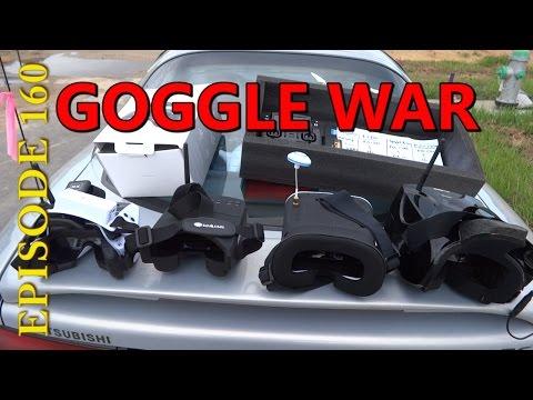 Compare Eachine GogglesOne, Kylin Vision, Walkera Goggle4 vs EV800
