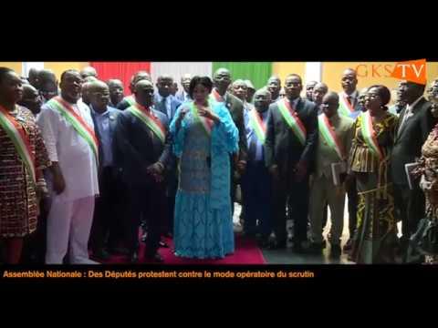 Assemblée Nationale :   Des Députés protestent contre le mode opératoire du scrutin
