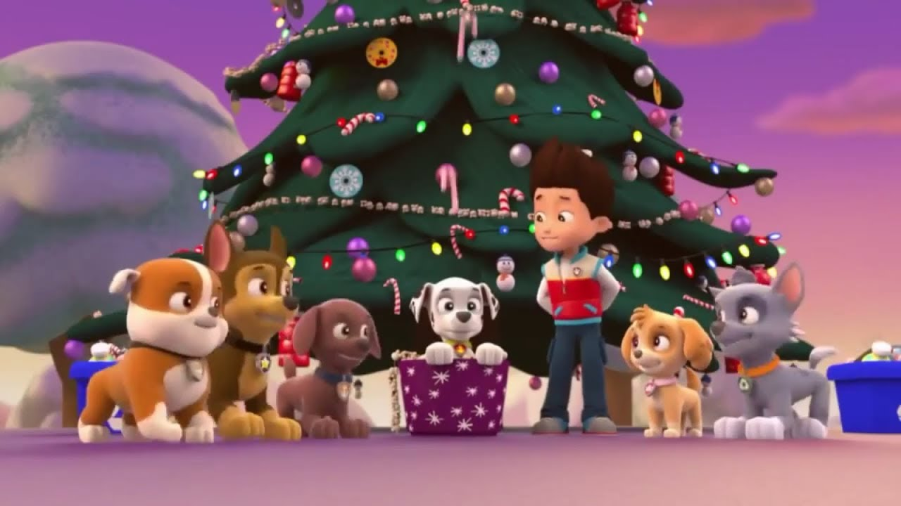 PAW Patrol - Pups Christmas Song (Deck the Halls) - YouTube