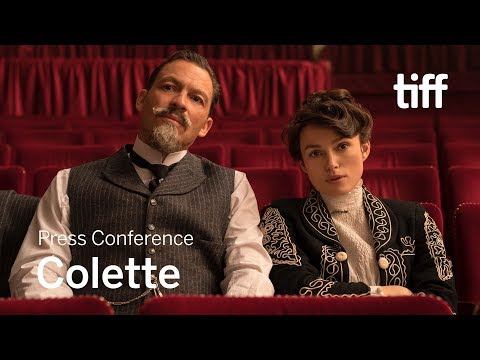 COLETTE Press Conference | TIFF 2018