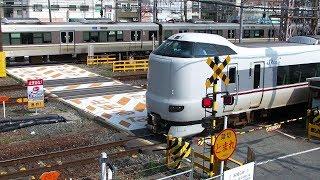 踏み切り- The Worst Railway Crossing in Japan ! 40 min. closed !!!