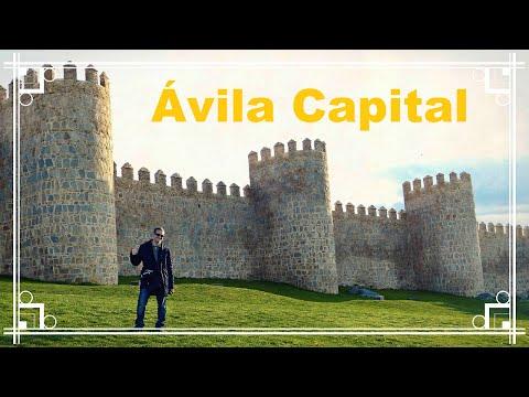 ¿Qué ver y hacer en Ávila? Muralla, catedral y Yemas Santa Teresa | 2# Castilla y León España
