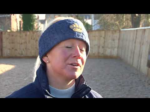 British Showjumping Training - Retraining of Racehorses Part 1