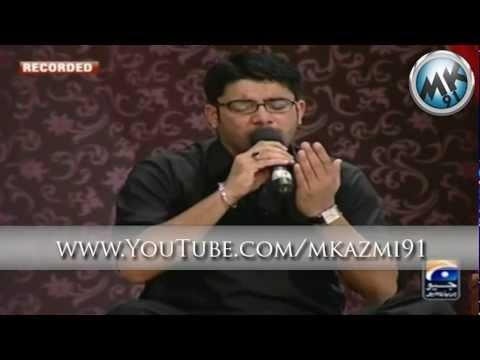 Mir Hassan Mir(Live) on Geo - 21st Ramazan 1433 - 10/08 ...