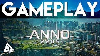 Anno 2205 Gameplay Part 1   Gamescom 2015