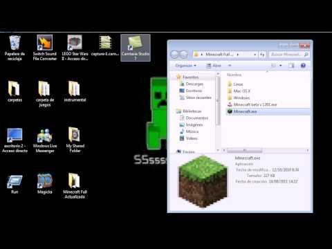 como descargar e istalar  minecraft full actualizable by minecraft84