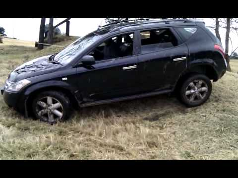 nissan murano off road test 2 - youtube