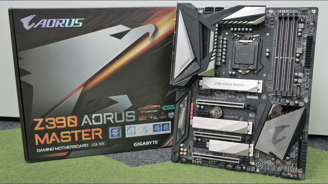 GIGABYTE Z390 AORUS MASTER Motherboard Review - Ultimate Coffee Lake  Refreshed CPU Performance!