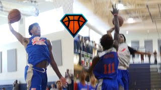 Kyree Walker & Jeremy Roach Throw Down VICIOUS Dunks At CP3 Rising Stars!!   2020 Prospects