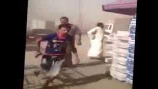 شاهد لحظة انفجار السيارة المفخخة الثانية في بغداد بعد تجمع الناس