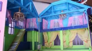 Кукольный домик шторы и гардины