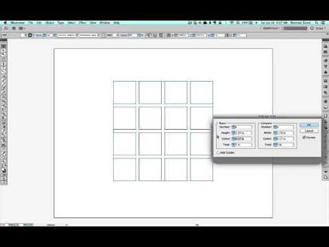 making grids in illustrator made easy youtube