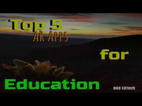 Top 5 AR Apps!