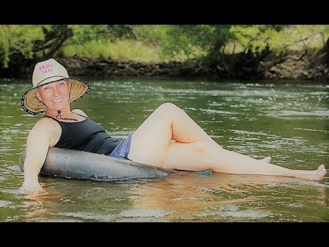 Tubing on Wallaby Creek, Rossville, Queensland, Australia