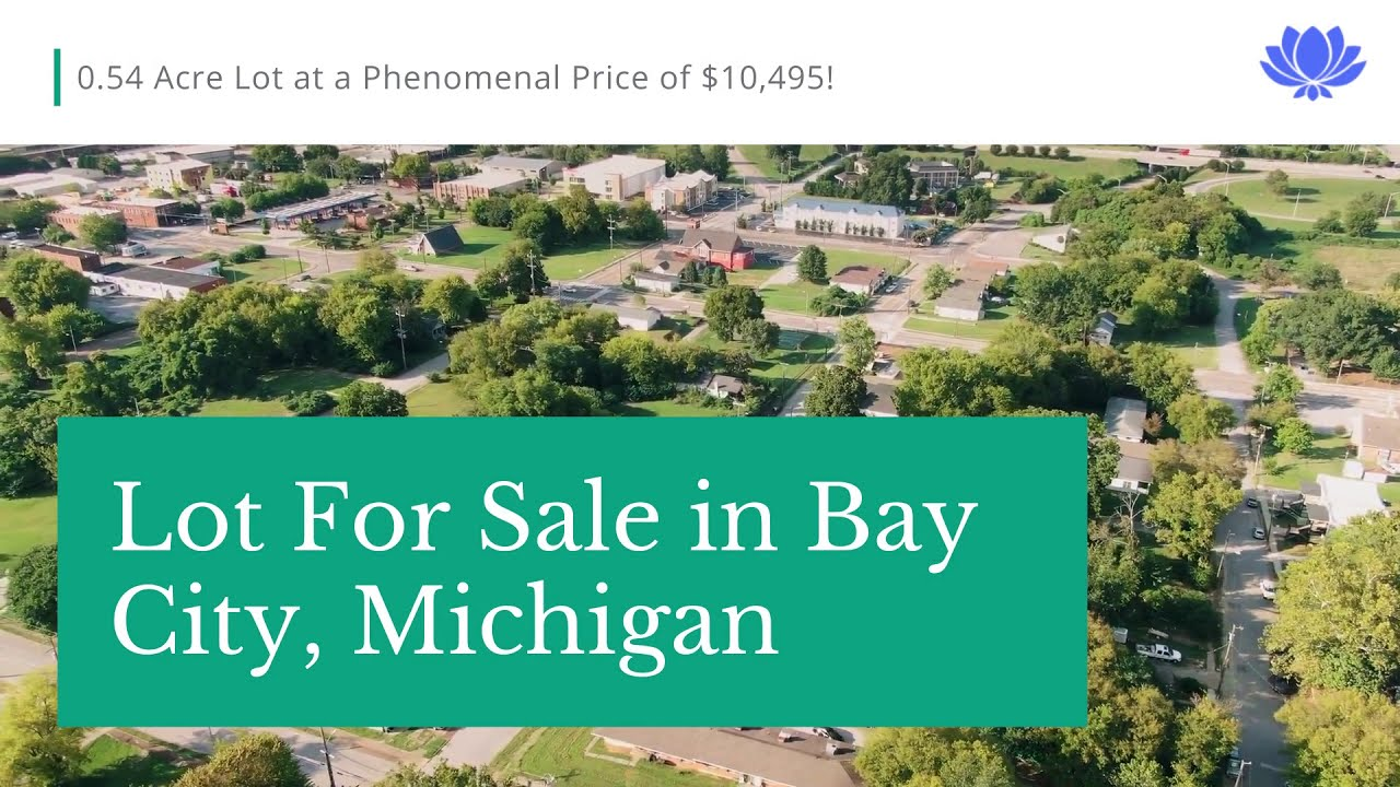 0.54-Acre Lot   Bay City, MI   FOR ONLY $10,495!!   Market Price of $25-$49K Financing Guaranteed!!