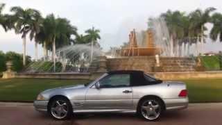 1998 mercedes-benz Sl500 amg sport convertible - official review