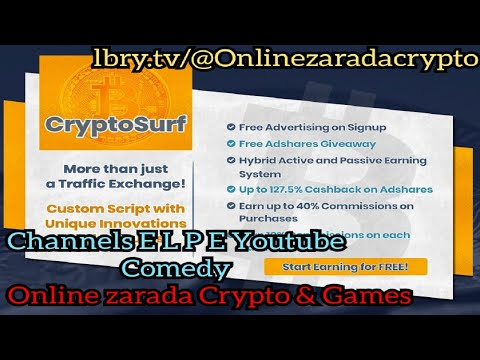 Crypto Surf – Amazing and Legit site for earning Money online