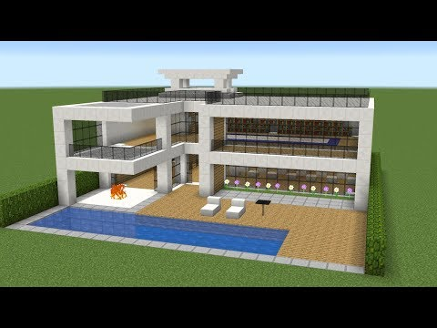 Minecraft - How to build a nice modern house