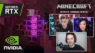 Minecrafters React to Minecraft with RTX Beta!