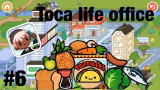 Toca life office | Food competition!! #6
