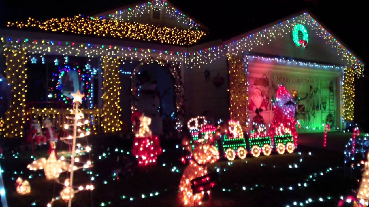 Christmas Light Show Youtube - Wiregrass Christmas Light Show 2011 ...