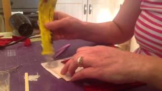 How To Make Dollshouse Curtains