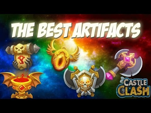Castle Clash The Best Artifacts