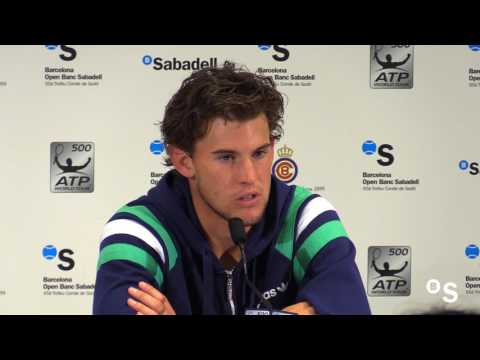 """Dominic Thiem: """"Rafa es el favorito para ganar el Roland Garros"""""""