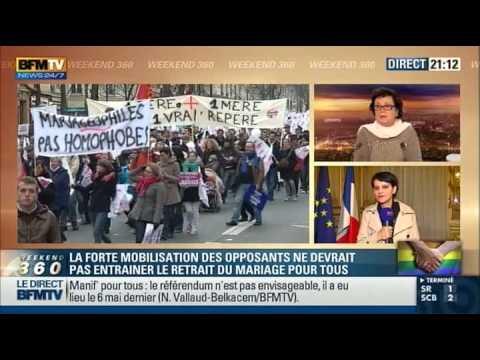 """Clash Boutin / Belkacem """"Madame, vous n'aurez plus qu'à prendre vos valises !"""" (13/01/13, BFM TV)"""