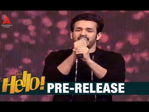 Akhil Akkineni Song Performance At HELLO...