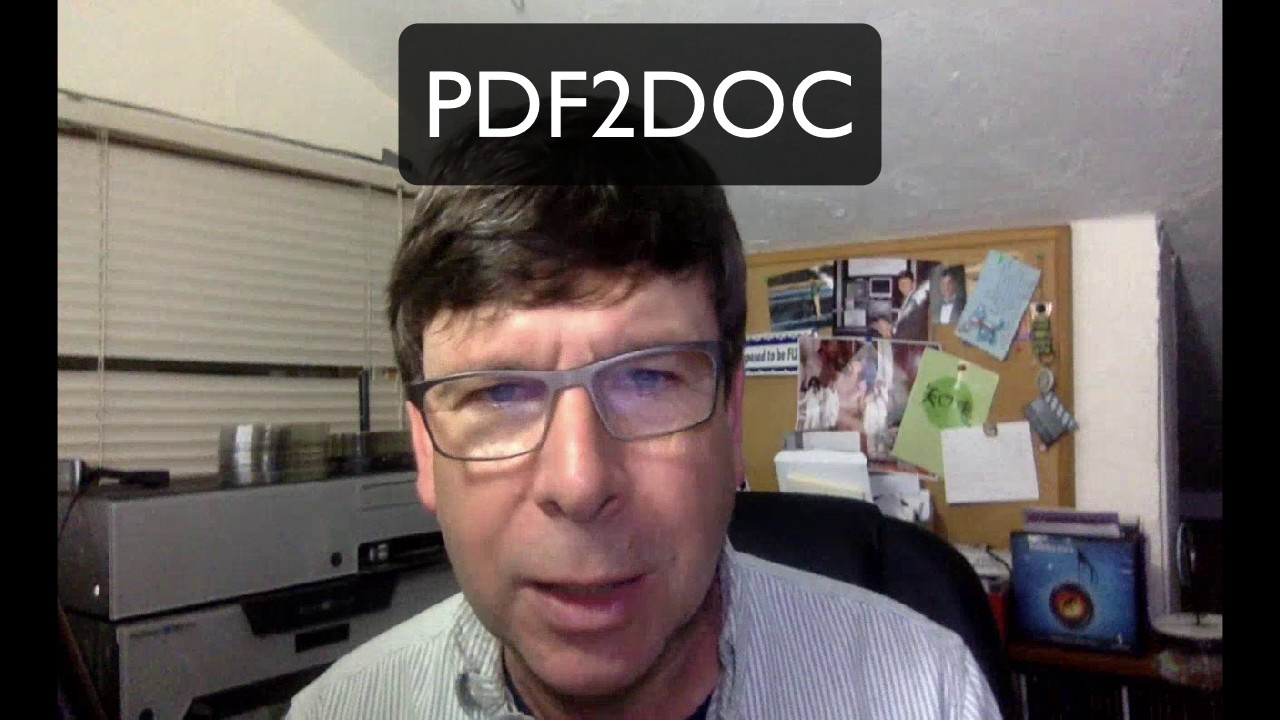how to convert pdf to word doc