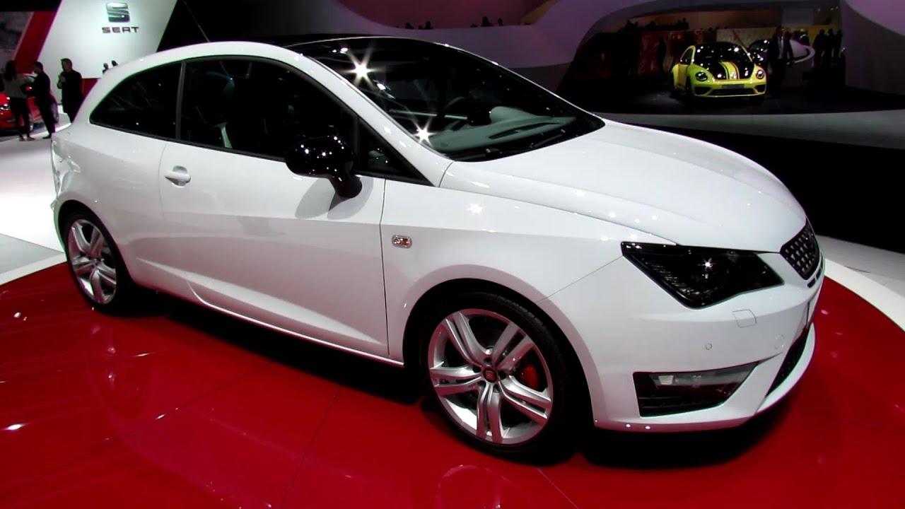 2014 seat ibiza sc exterior and interior walkaround 2013 frankfurt motor show youtube. Black Bedroom Furniture Sets. Home Design Ideas