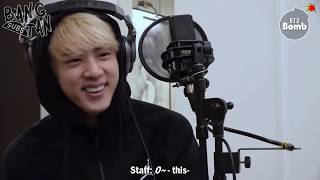 Gambar cover [ENG] 191127 [BANGTAN BOMB] Jin, Recording his first ever composition - BTS (방탄소년단)