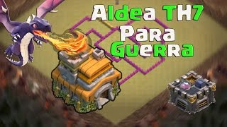 Diseño De Aldea TH7 I TH7 War Base I xMuneRx