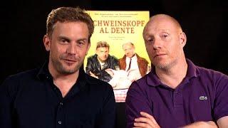Schweinskopf al dente HD » Interview mit Sebastian Bezzel, Simon Schwarz & Lisa Potthoff | Stylight