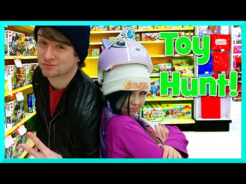 Toy Shopping Hunt with Chad - Disney Frozen, My Little Pony, Grumpy Cat, Shopkins and More
