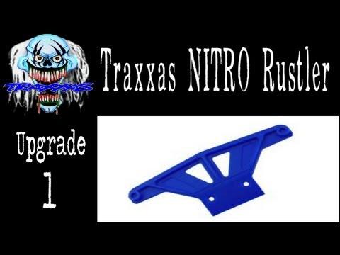Banshee - Traxxas Nitro Rustler - Level 1 Upgrade - RPM Bumper (Introduction)