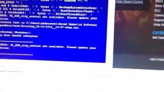 видео Unable to set appropriate display mode Видеодрайвер перестал отвечать и был восстановлен