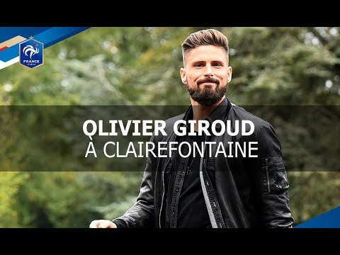 "Equipe de France, Olivier Giroud : ""Bien dans mes baskets et bien dans ma tête"" I FFF 2017"