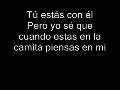 Nicky Jam -   Piensas En Mi ( Con letra )