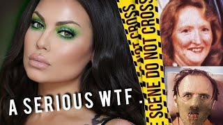 The Woman Hannibal Lecter - Katherine Knight - GRWM - Murder, Mystery & Makeup | Bailey Sarian